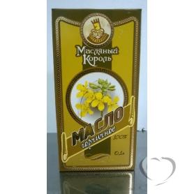 """Масло горчичное""""Маслянный король"""" стеклянная банка 0,1л*20"""