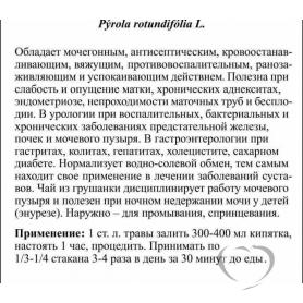 Грушанка круглолистая / Pyrola  Rotundifolia L.