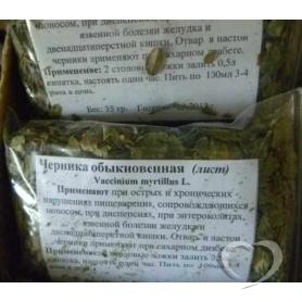 Черника обыкновенная (трава) / Vaccinium myrtillus L.