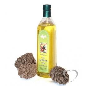 Масло растительное из ядра кедрового ореха нерафинированное пищевое «Алтайское» 250 мл